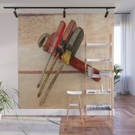 Screwdrivers and Wrench-2 Wall Mural