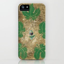 A Merlot In My Garden iPhone Case