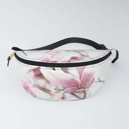 MAGNOLIA WHITE PINK Fanny Pack