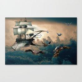 Creativity vs Gravity Canvas Print