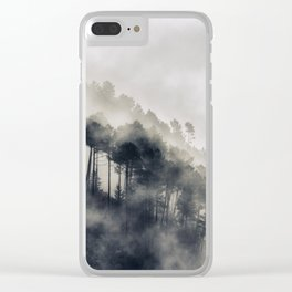 Cloudy morning Clear iPhone Case