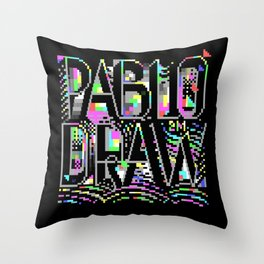 PabloDraw Throw Pillow
