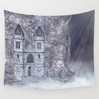 castle Wall Tapestries featuring Castle by Simone Gatterwe