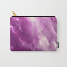 In the Company of Myself: Abstract #4 Carry-All Pouch