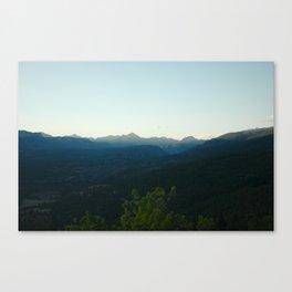 Mountain Haze - Durango, CO Canvas Print