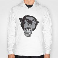 panther Hoodies featuring Panther by Taranta Babu