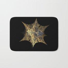3D Fractal Star Bath Mat