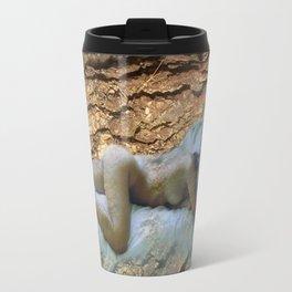 Nude on sheets Travel Mug