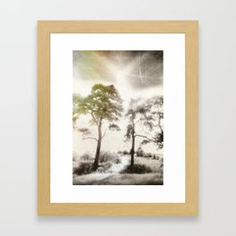 Peace before the Storm Framed Art Print