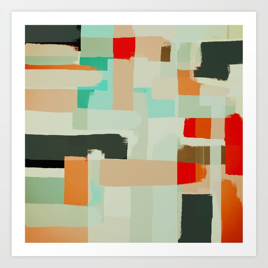 Abstract Painting No. 13 Art Print