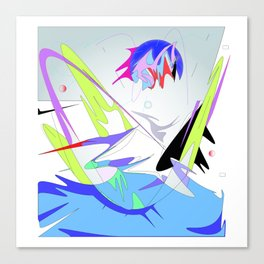 sea refresh Canvas Print