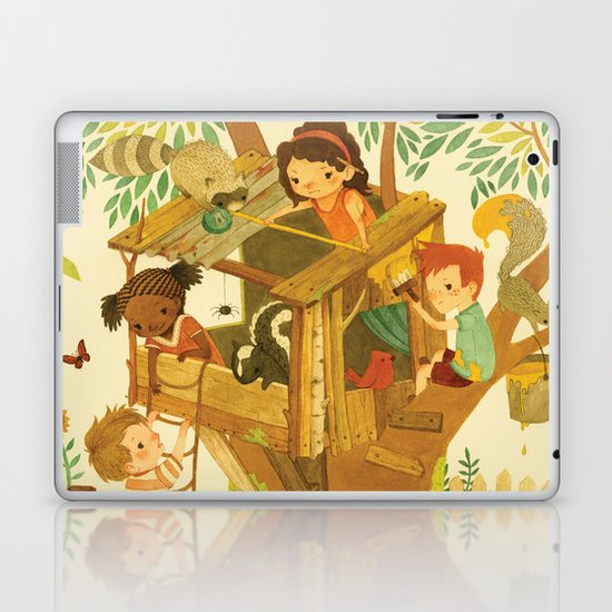 Our House In the Woods Laptop & iPad Skin