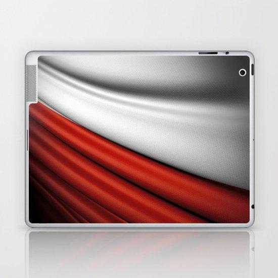 flag of Poland Laptop & iPad Skin
