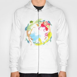 Mermaid Circle Hoody