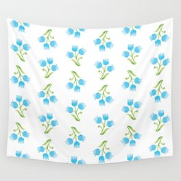 Flowers bells Wall Tapestry