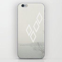 diamonds float iPhone Skin