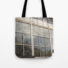 Window Art Work Tote Bag