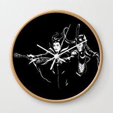 Dark Fiction Wall Clock