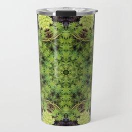 Filigree Foliage Kaleidoscope Travel Mug