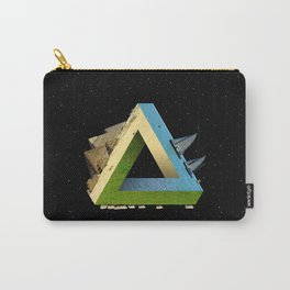 Impossible earth (penrose triangle) Carry-All Pouch