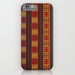 Oriental Kilim Pattern iPhone Case