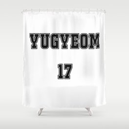 GOT7 YUGYEOM 17 Shower Curtain