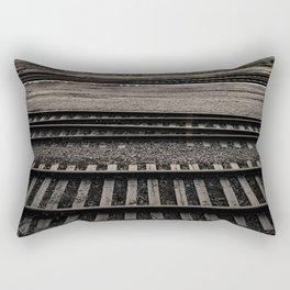 Train Crossing Rectangular Pillow