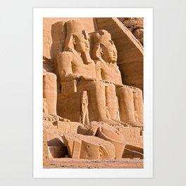 Great Temple of Abu Simbel Art Print