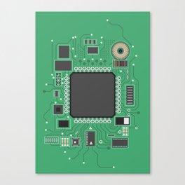 Chip set Canvas Print