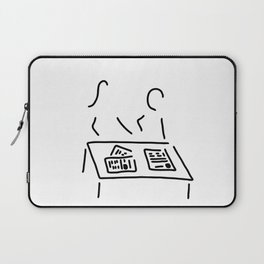 Meeting editorial staff editorial office newspaper Laptop Sleeve