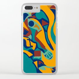 Induced Jazz Clear iPhone Case
