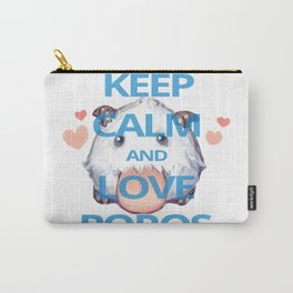 KEEP CALM AND LOVE POROS Carry-All Pouch