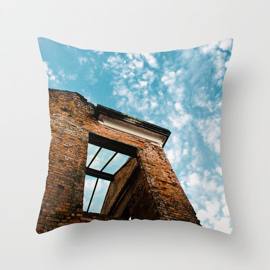 Ruins Park Throw Pillow