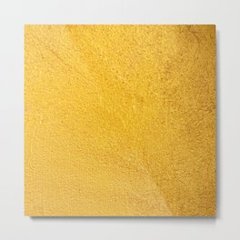 Yellow background Metal Print