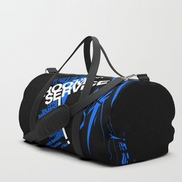 I WANT ROOM SERVICE! Duffle Bag