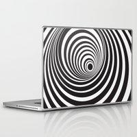 vertigo Laptop & iPad Skins featuring Vertigo by General Design Studio