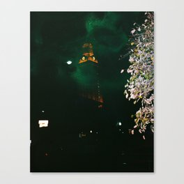 U Tower Canvas Print