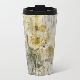 Black Pigment And Coffee Travel Mug