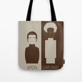 Simon And Garfunkel Tote Bag