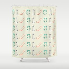 Nicole Archer's Anatomy of a Penis Shower Curtain