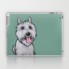 Levi the Miniature Schnauzer Laptop & iPad Skin