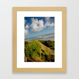 Atlantic green fur Framed Art Print
