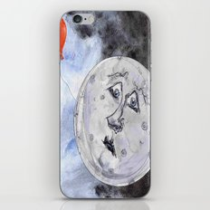 Moon and the Balloon iPhone & iPod Skin