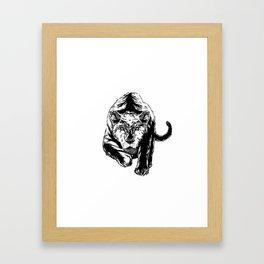 Hunt Or Be Hunted Framed Art Print