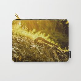 Sun rays over a bent steel rod, warm artistic capture Carry-All Pouch