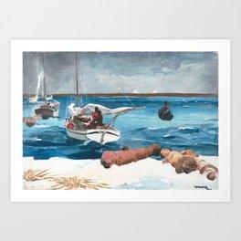 Nassau - Winslow Homer, 1899 Art Print