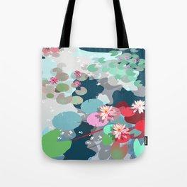 Aquatic garden Tote Bag