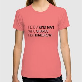 The Wise Homebrewer T-shirt