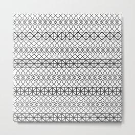 aztec print Metal Print