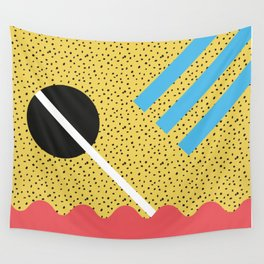 Memphis Style N°8 Wall Tapestry